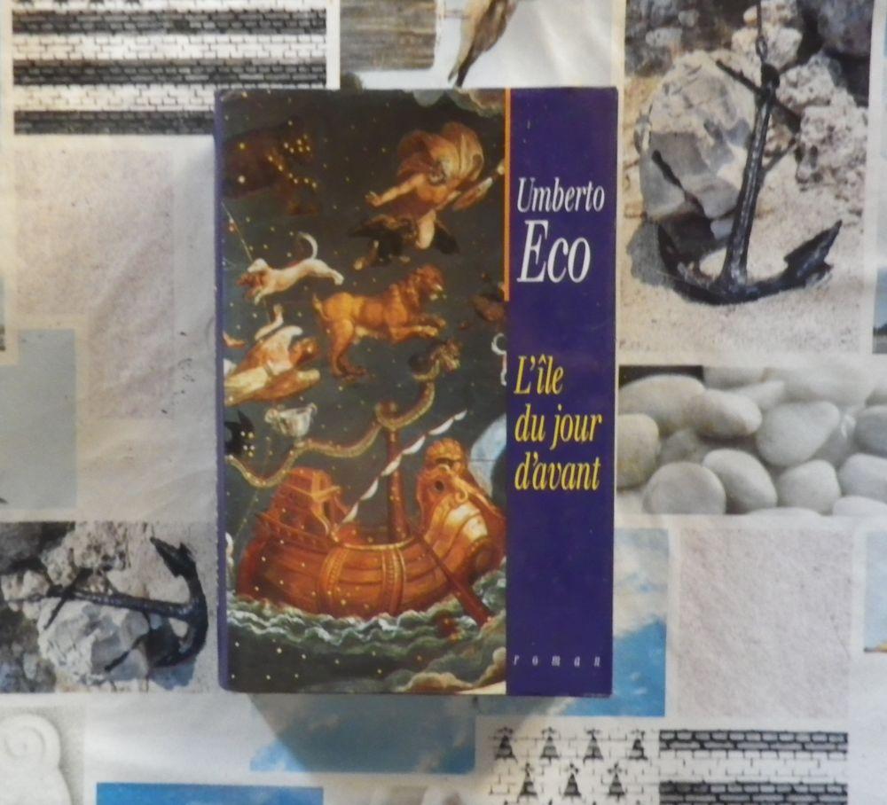 L'ILE DU JOUR D'AVANT de Umberto ECO Ed. France Loisirs 3 Bubry (56)