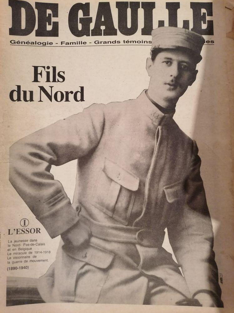 Journal ancien Général De Gaulle 80 Cambrai (59)