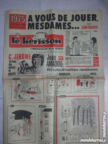 Journal Le Hérisson n° 1509 de mars 1975 15 Ligné (44)