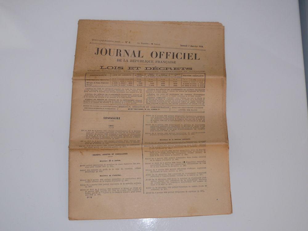 Journal Officiel 10 Saintes (17)