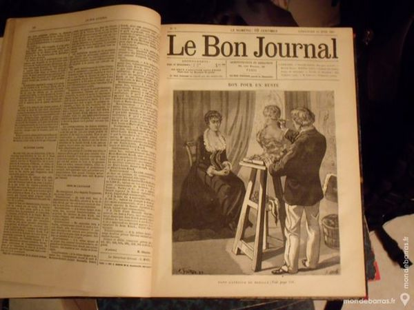 Le bon journal  Volume relié  50 La Souterraine (23)