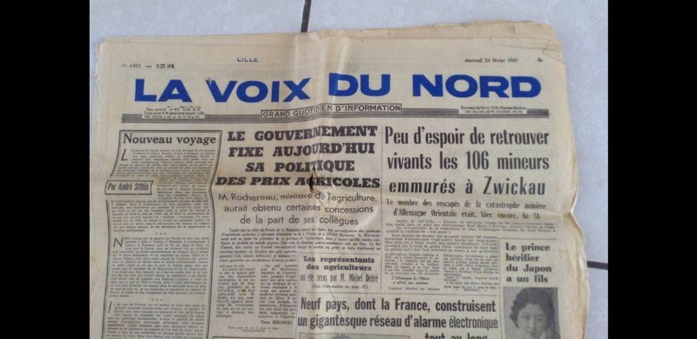 JOURNAUX V D N  ANNÉE 1980 0 Marcq-en-Barœul (59)