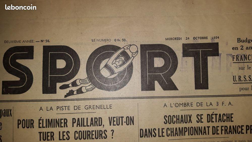 journaux années 30 divers titres