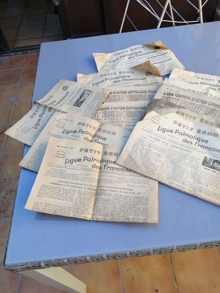 journaux années 30 20 Saint-Fraigne (16)