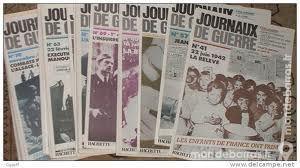 Lot 72 JOURNAUX de GUERRE 1939/1945 - WW2 0 Paris 14 (75)