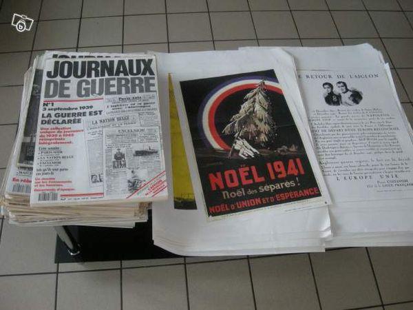 JOURNAUX DE GUERRE 0 Metz (57)