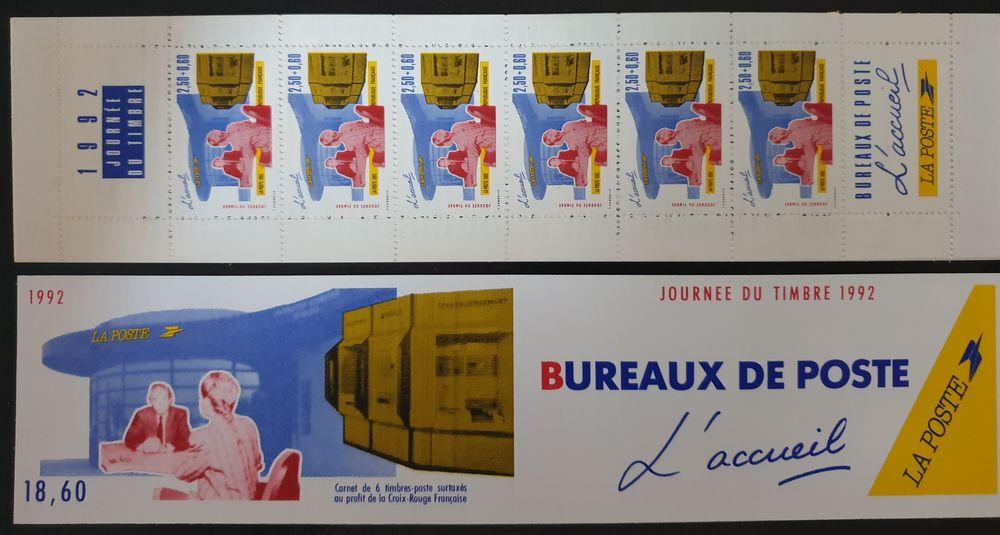 JOURNEE DU TIMBRE BC2744A de 1992 75% de la faciale 2 Joué-lès-Tours (37)
