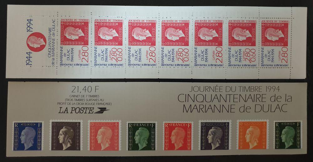 JOURNEE DU TIMBRE BC2865 de 1994 75% de la faciale 2 Joué-lès-Tours (37)
