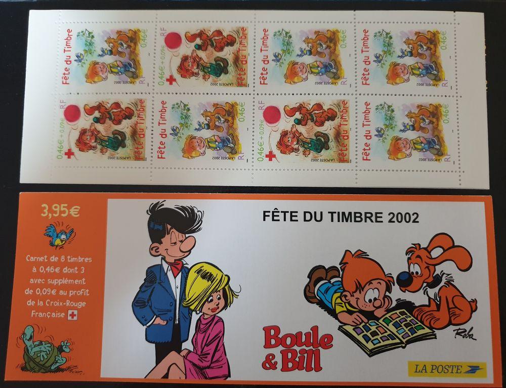 JOURNEE DU TIMBRE BC3467a de 2002 80% de la faciale 3 Joué-lès-Tours (37)