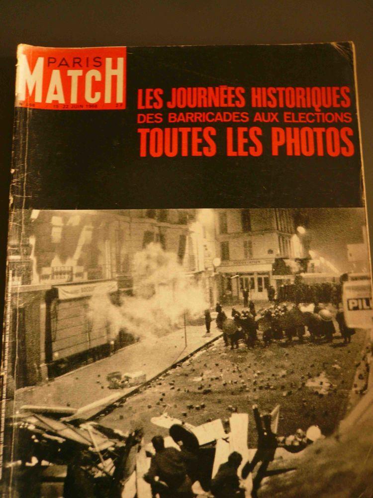 Les journées historiques des barricades - Paris Match 1968 5 Rennes (35)