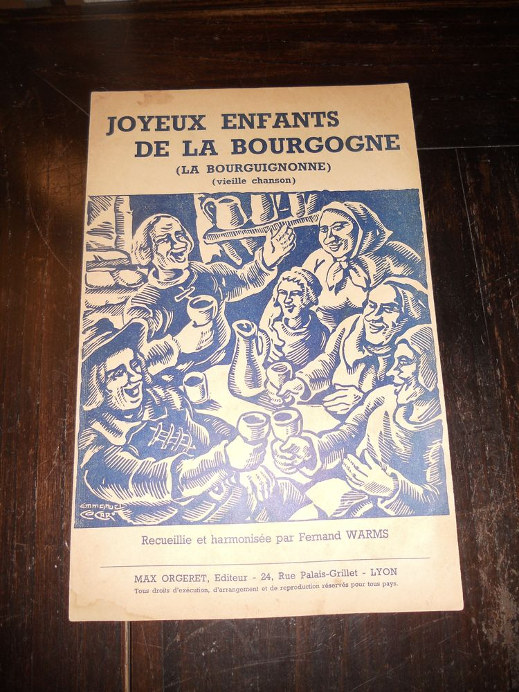 joyeux enfants de la Bourgogne ( la bourguignonne ) 6 Tours (37)