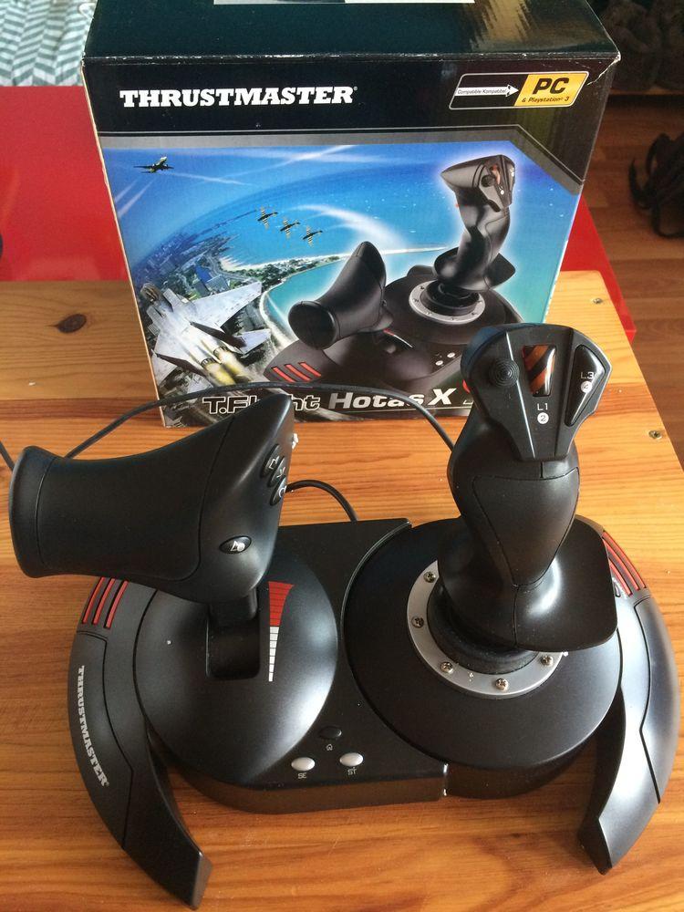 Joystick Thrustmaster T.Flight Hotas X 0 Bordeaux (33)