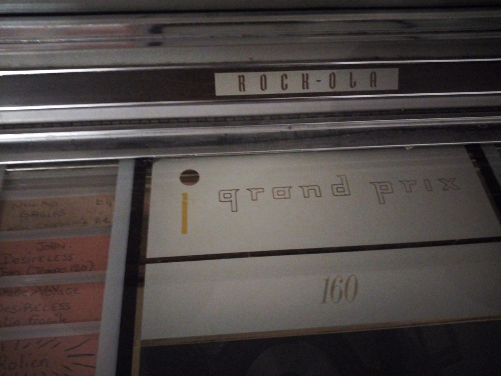 Jukebox  rock Ola 160 année 1957 1900 Baronville (57)