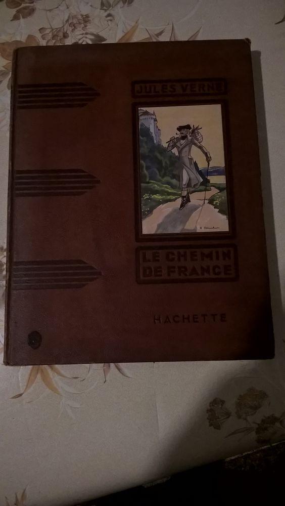 JULES VERNE LE CHEMIN DE FRANCE/GIL BRALTAR 1935. 24 Flers-en-Escrebieux (59)
