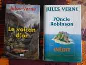 Jules VERNE : LE VOLCAN D'OR ET L'ONCLE ROBINSON 15 Attainville (95)