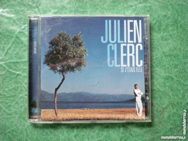 CD  Julien Clerc  « Si j' étais elle » 4 Saleilles (66)
