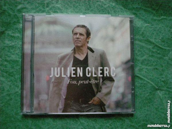 CD Julien Clerc  « Fou peut être » 5 Saleilles (66)