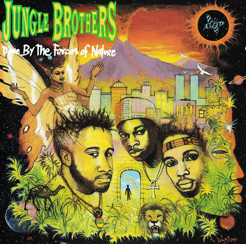 CD Jungle Brothers - Done By The Forces Of Nature CD et vinyles