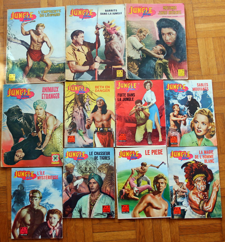 Jungle jim roman photos Tarzan 4 Issy-les-Moulineaux (92)