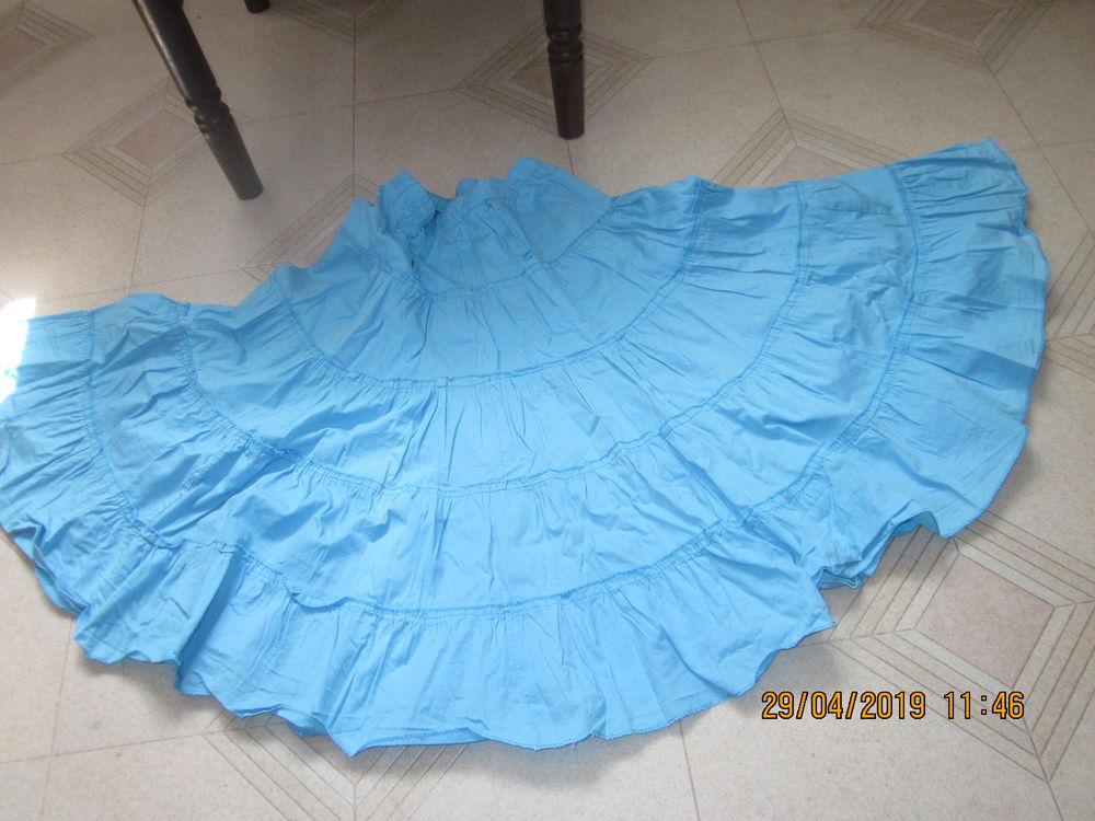 jupe coton 4 volants  12 ans 1 Soucelles (49)