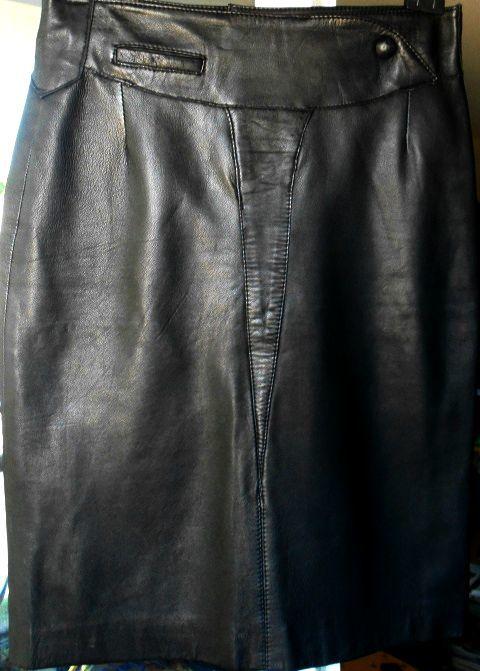Jupe cuir d'agneau crayon 40 Antibes (06)