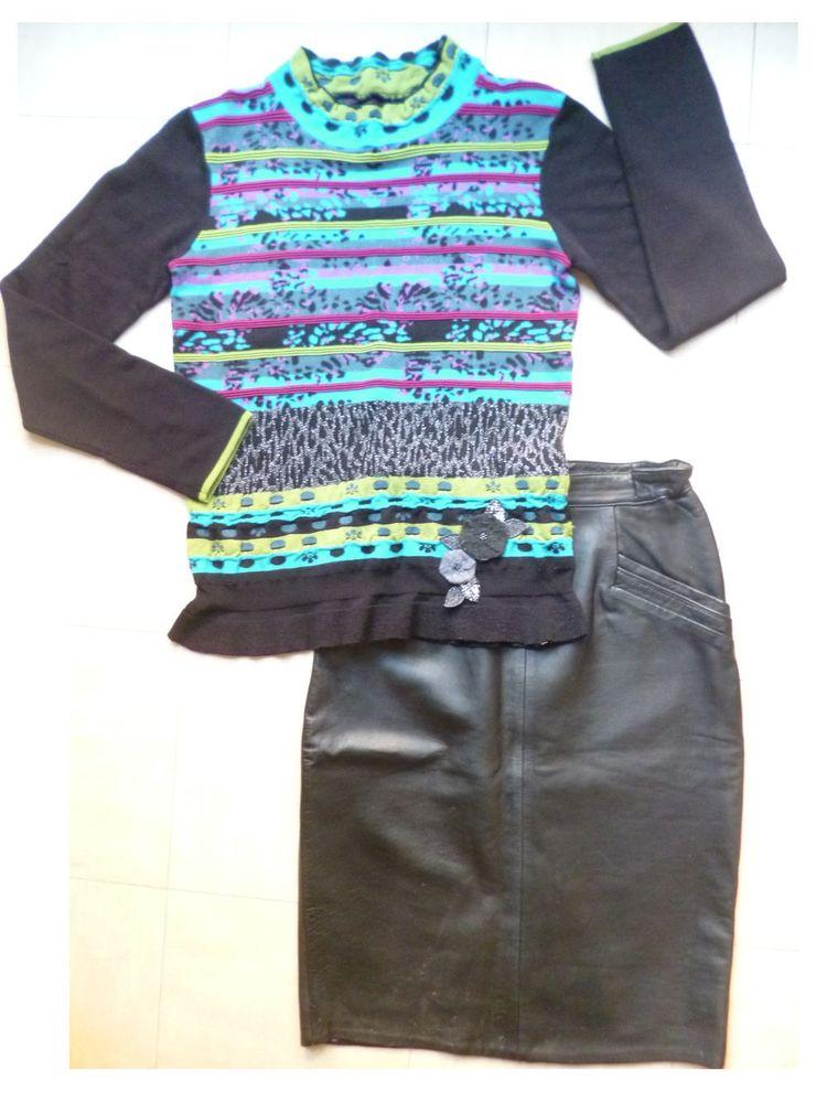 42 - JUPE cuir, pantalon, pulls, .... 2 Martigues (13)