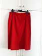 Jupe droite rouge - 42 - Très bon état