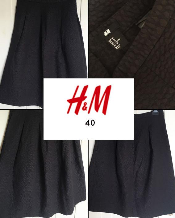 Jupe évasée, effet matière H&M 40 Vêtements