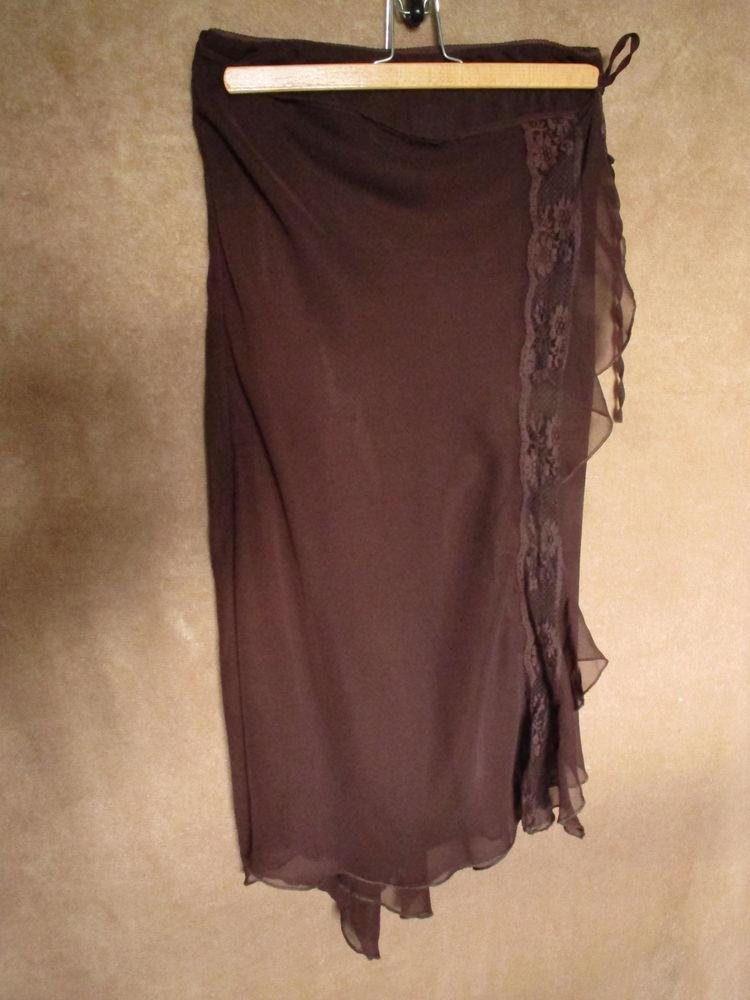 jupe marron mi-longue 6 Limoux (11)