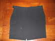 Jupe noire crêpe courte IKKS Vêtements