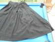 Jupe plissée noire vintage 38 Vêtements