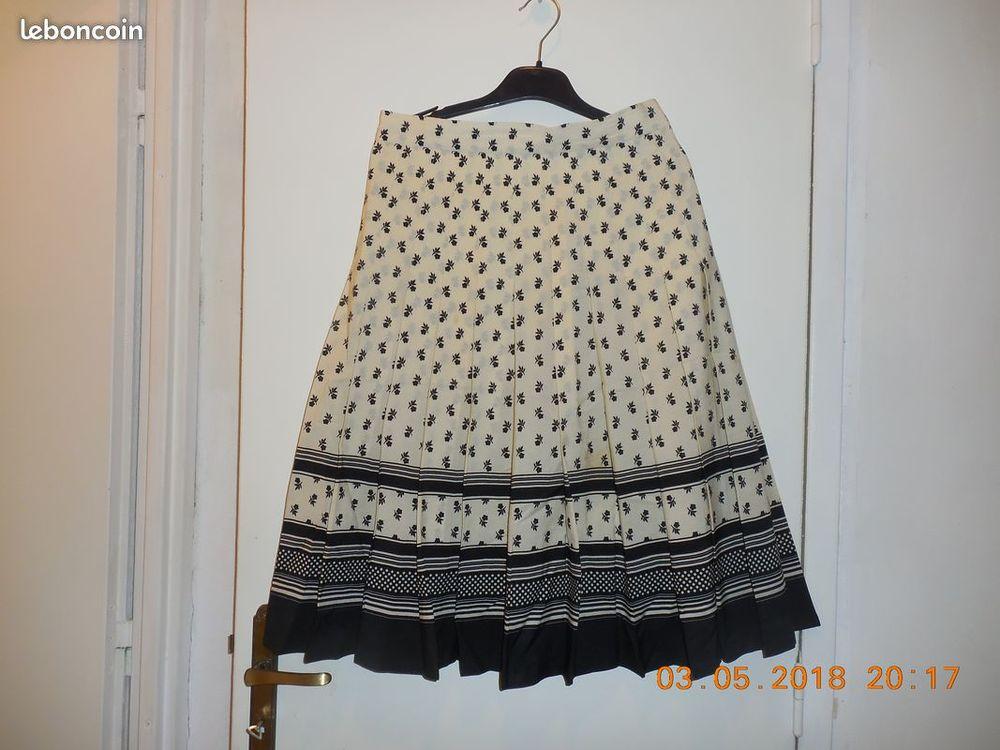 jupe plissée 40 42 Vêtements