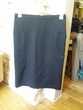 2 jupes noires droites quasi neuves Bio (46)