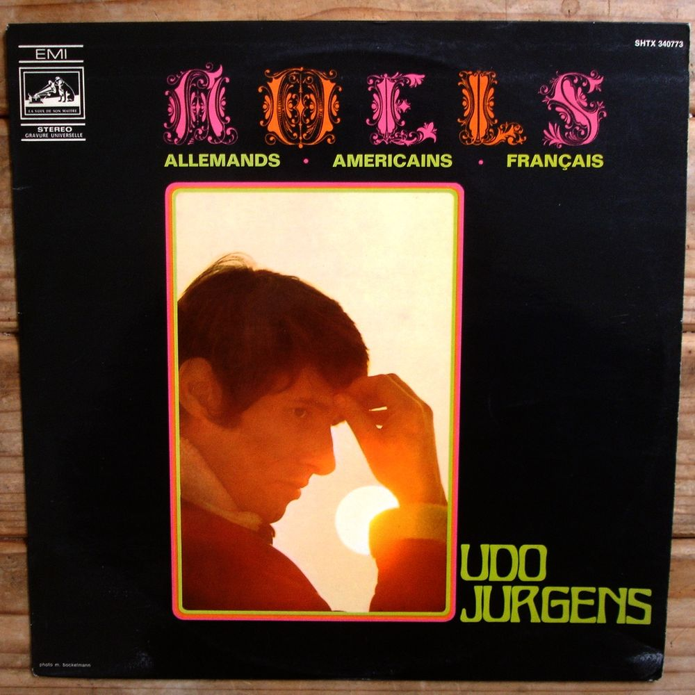 UDO JURGENS-33t-NOËLS All..Amér..Franç. BIEM 1968 LANGUETTE CD et vinyles