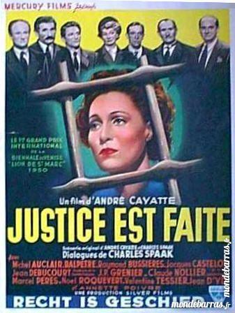 Dvd: Justice est faite (344) DVD et blu-ray