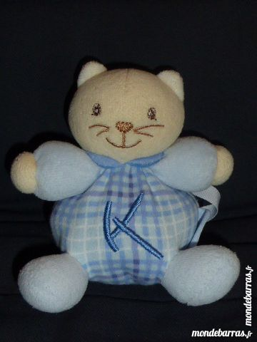 Kaloo doudou chat bleu K accroche tétine 5 Rueil-Malmaison (92)
