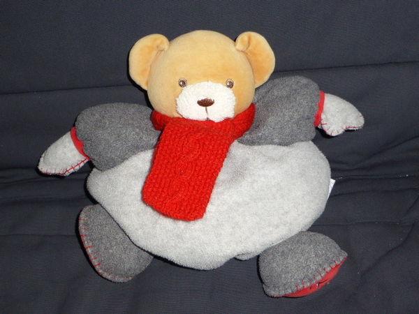 KALOO doudou ours patapouf écharpe rouge 10 Rueil-Malmaison (92)