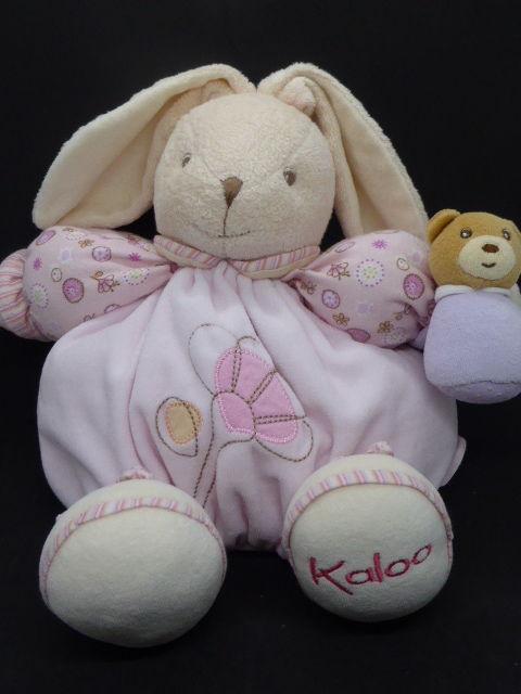 Kaloo Lilirose doudou Patapouf lapin maman bébé 12 Rueil-Malmaison (92)