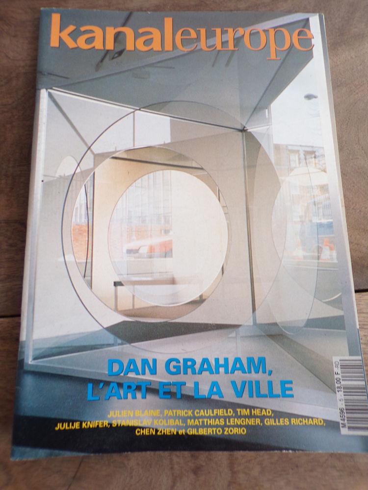 Kanaleurope revue d' art n° 5 Dan Graham  4 Laval (53)