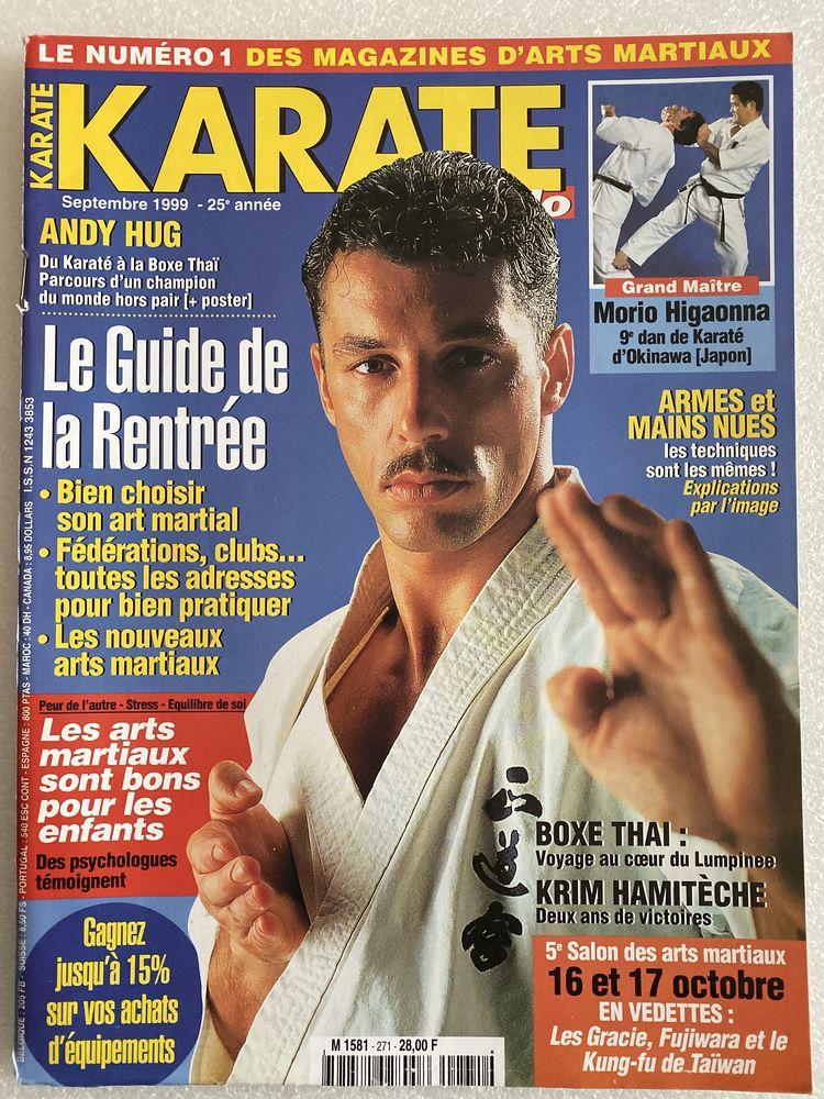 KARATE BUSHIDO n°271 SEPTEMBRE 1999 Livres et BD