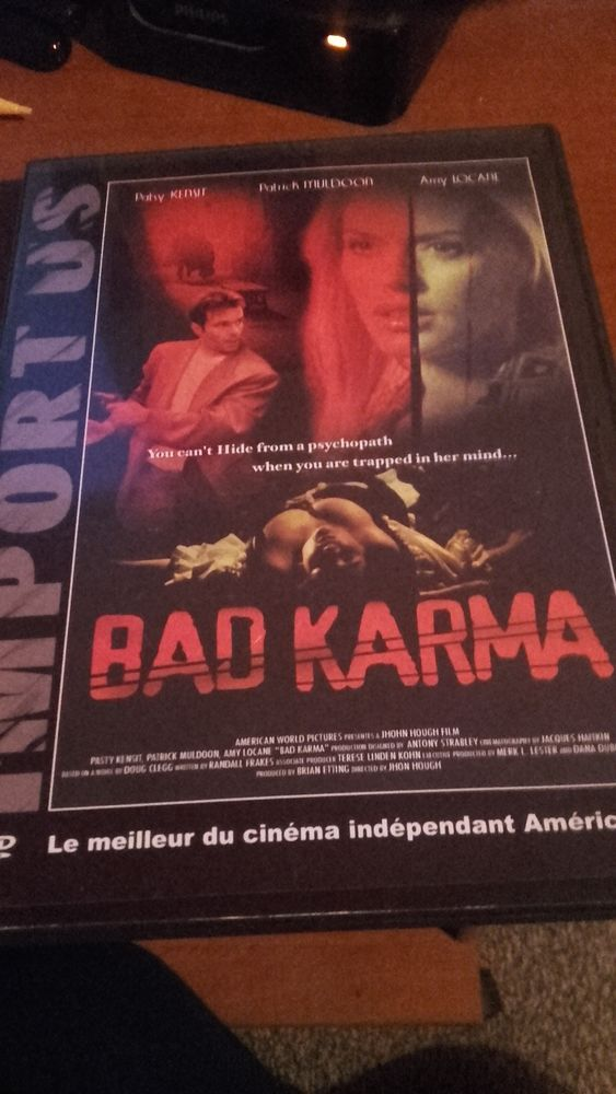 DVD Bad Karma. Livraison possible 1 Rixheim (68)