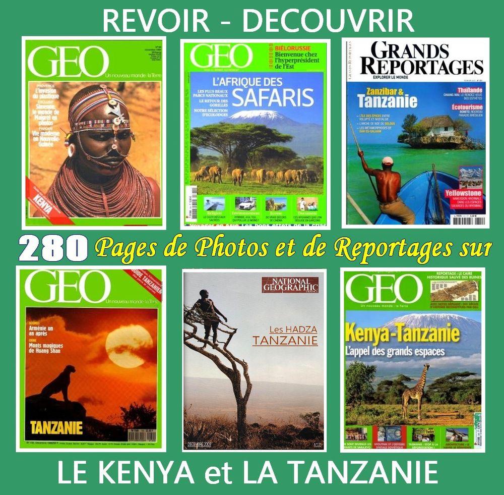 KENYA - Afrique - TANZANIE / prixportcompris 18 Lille (59)