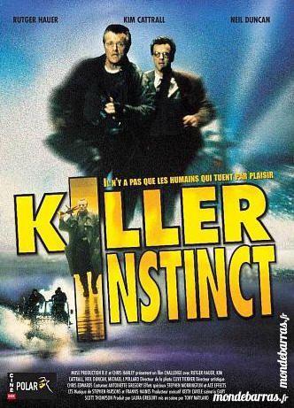 K7 vhs: Killer Instinct (477) 6 Saint-Quentin (02)