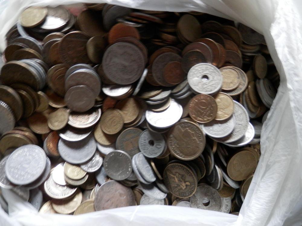 Sac de 10 kilos de monnaie 80 Couzeix (87)