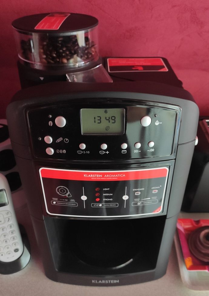 KLARSTEIN aromatica Cafetière programmable à moulin intégré. 95 Geispolsheim (67)