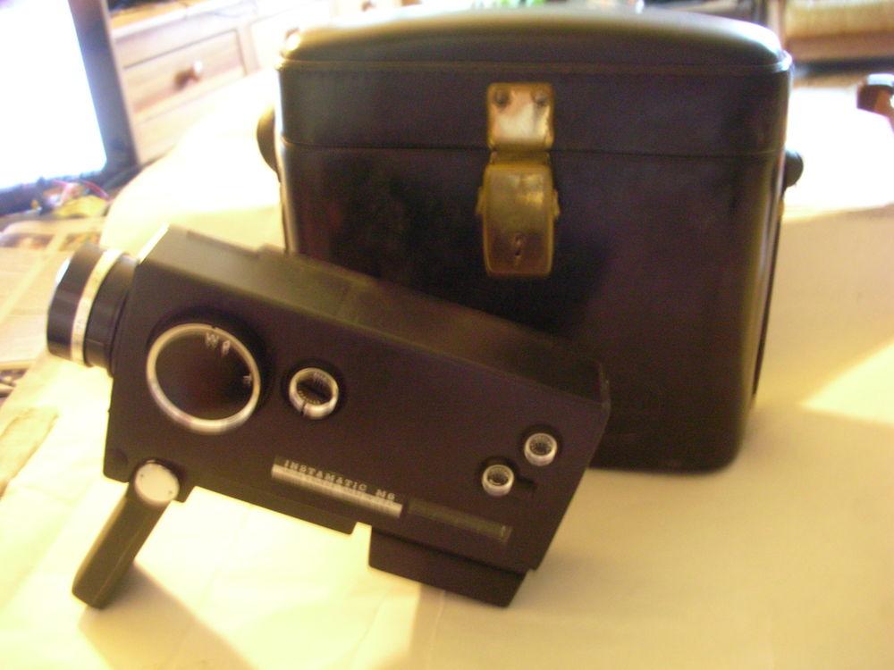KODAK Instamatic M6 Camera Super 8 Etui Cuir Vintage 0 Chamonix-Mont-Blanc (74)