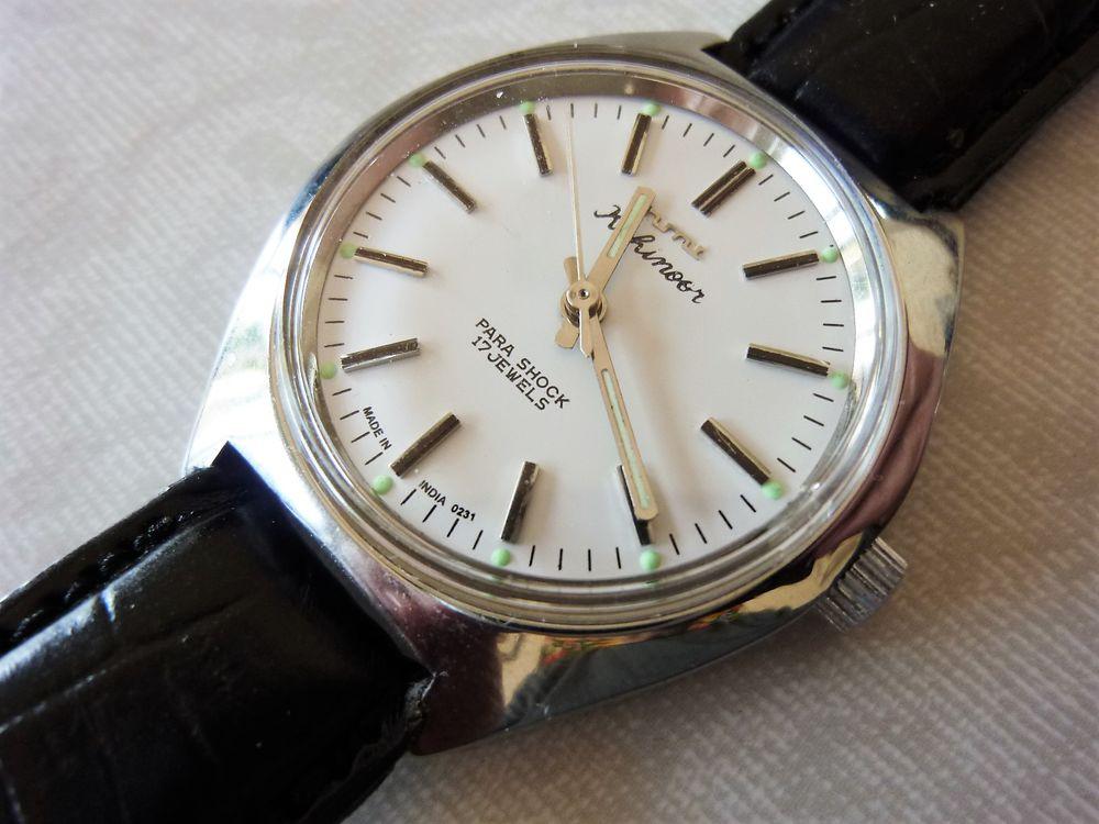 HMT Kohinogr montre Indienne homme 1990 HMT0048 85 Metz (57)