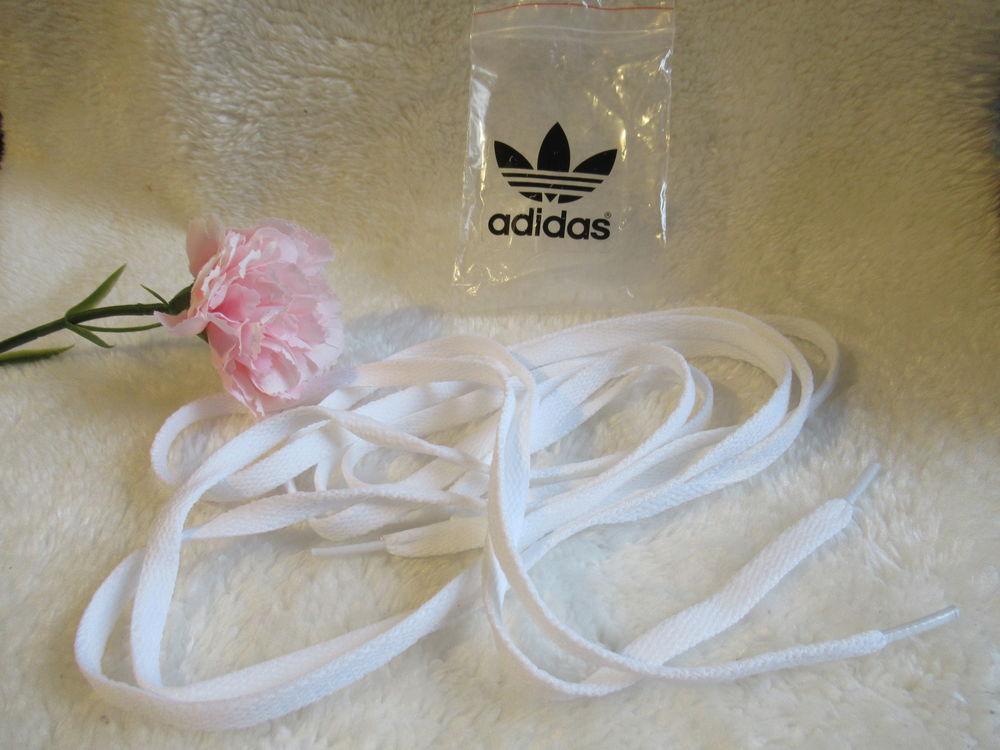 Lacets plat - Adidas - blanc - NEUF 8 Livry-Gargan (93)