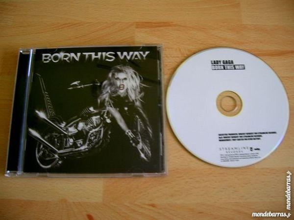 CD LADY GAGA Born this way 7 Nantes (44)