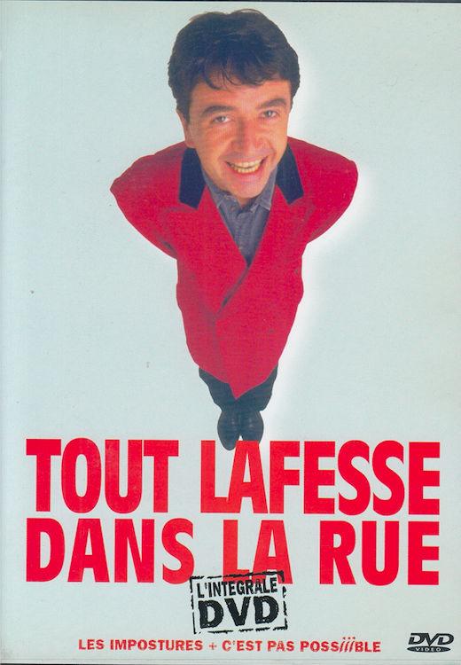 DVD Lafesse Dans La Rue -Les Impostures + C'est Pas Possible 3 Antony (92)